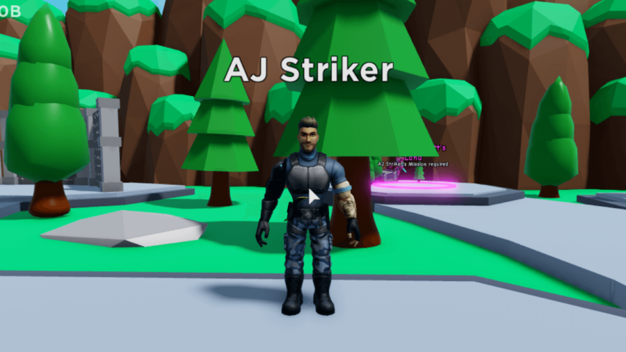 AJ Striker in Clicker REalms.