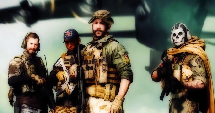 Screenshot of Call of Duty Warzone gameplay trailer