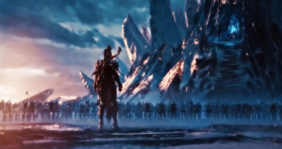 Screenshot of World of Warcraft trailer