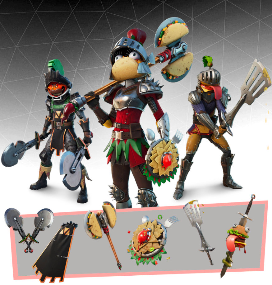 Knights of the Food Court Bundle