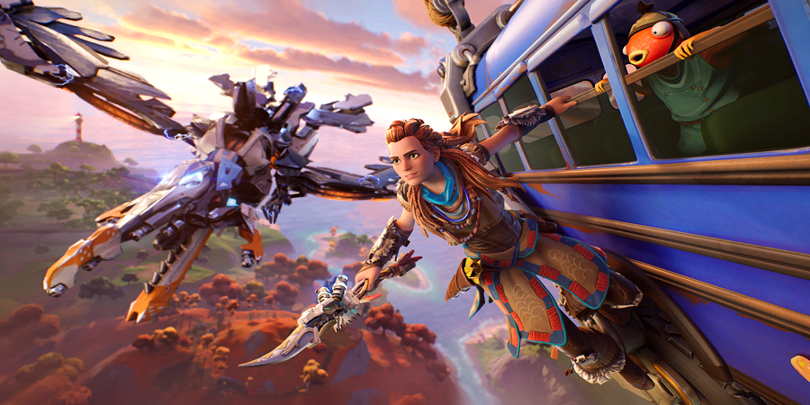 Aloy the Skywatcher Loading Screen