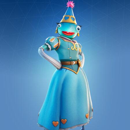 Princess Felicity Fish skin