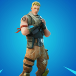 Jonesy the first in Fortnite.