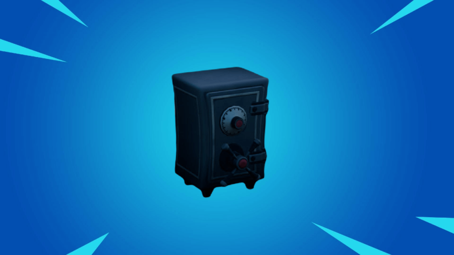 A featured safe in Fortnite.