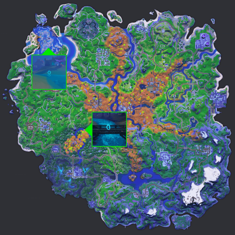 Time Trial Locations in Fortnite C2S6W6