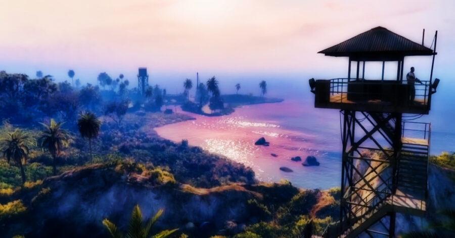 Screenshot of GTA Online trailer