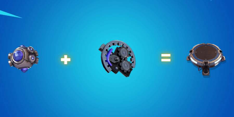 Shockwave grenade plus mechanical parts.