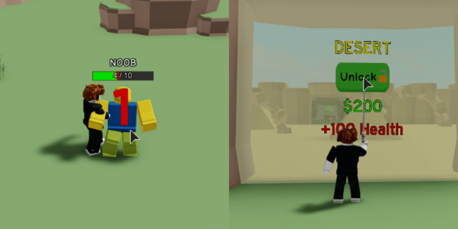 The first two tasks for the metaverse event in MElee Simulator.