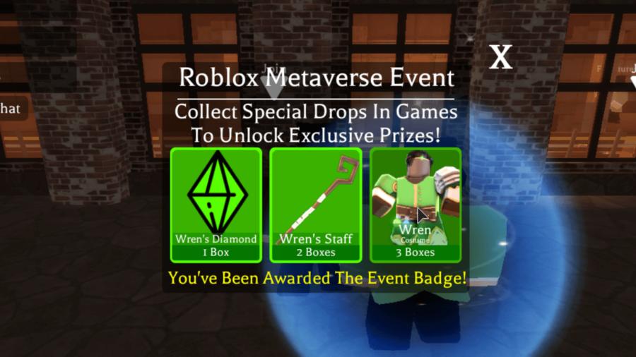 The Wren Metaverse Champion Badge.