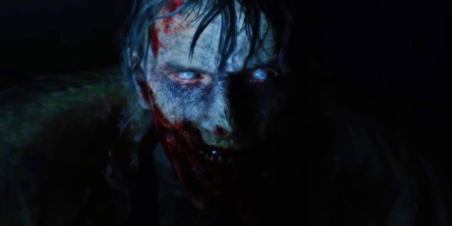 Screenshot of Resident Evil 2 trailer
