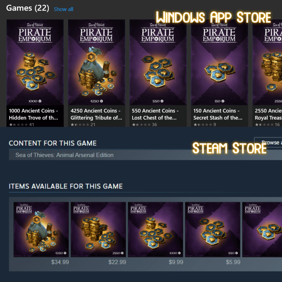 Ancient Coins on PC stores.