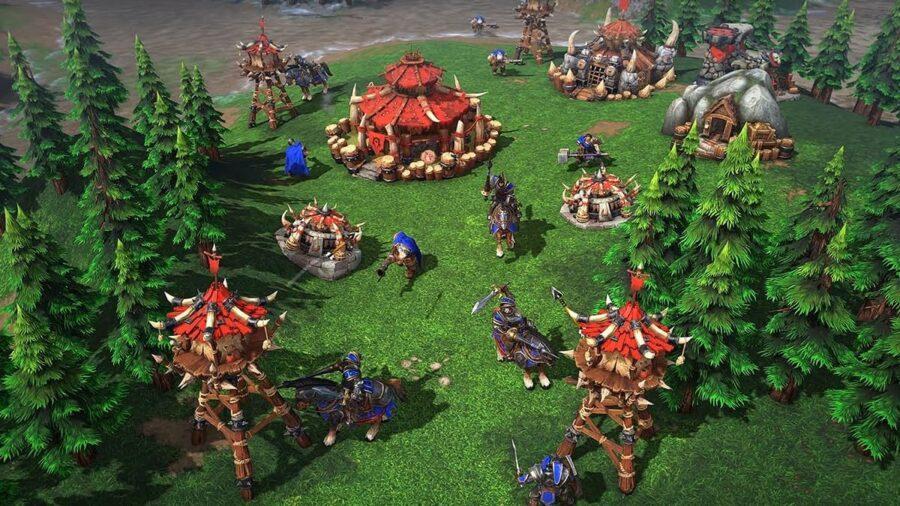 Warcraft 3 Reforged gameplay.