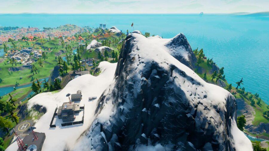 Mount Kay in Fortnite.