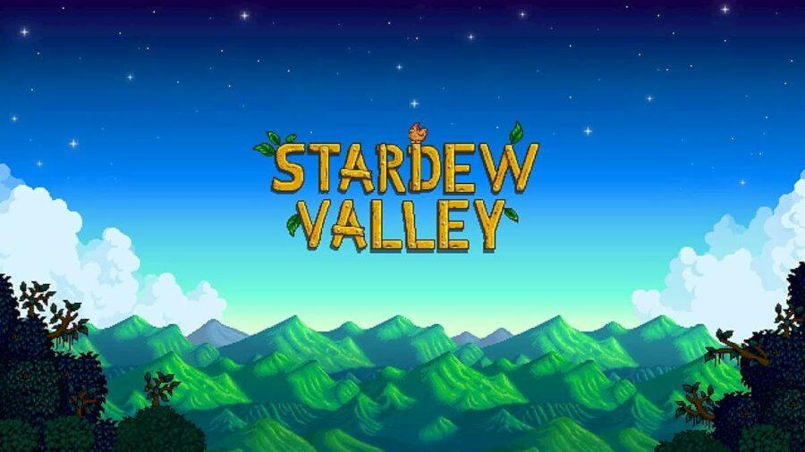 Stardew Valley Title.