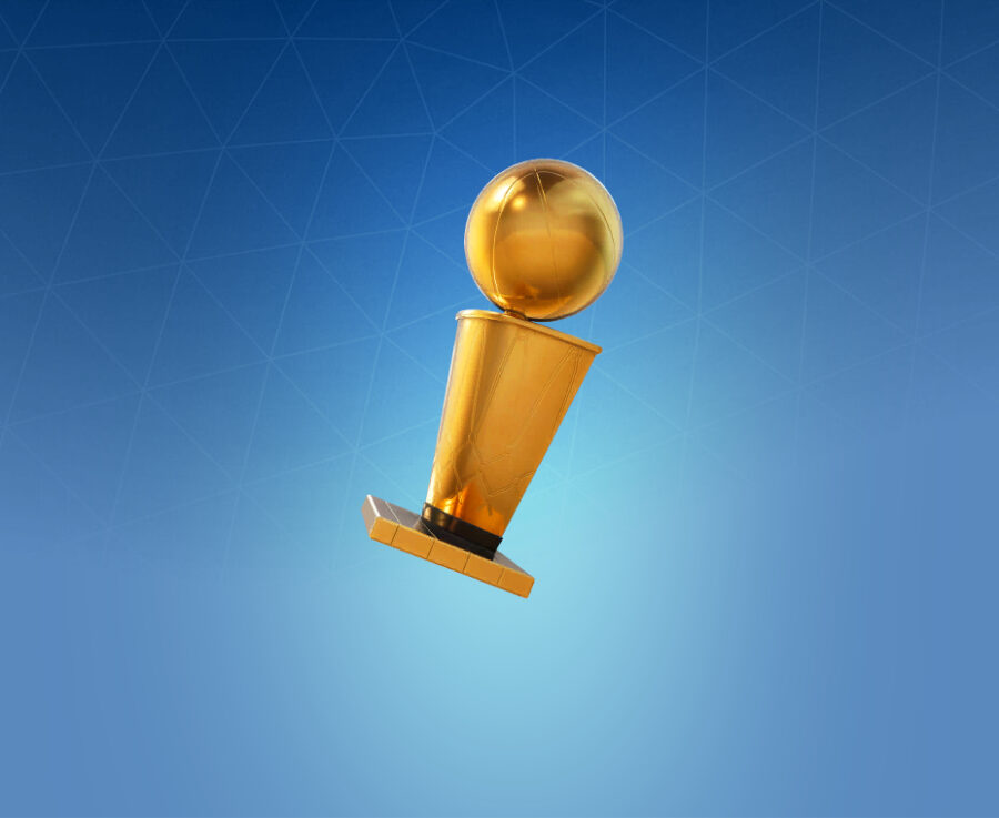 NBA Championship Trophy Back Bling