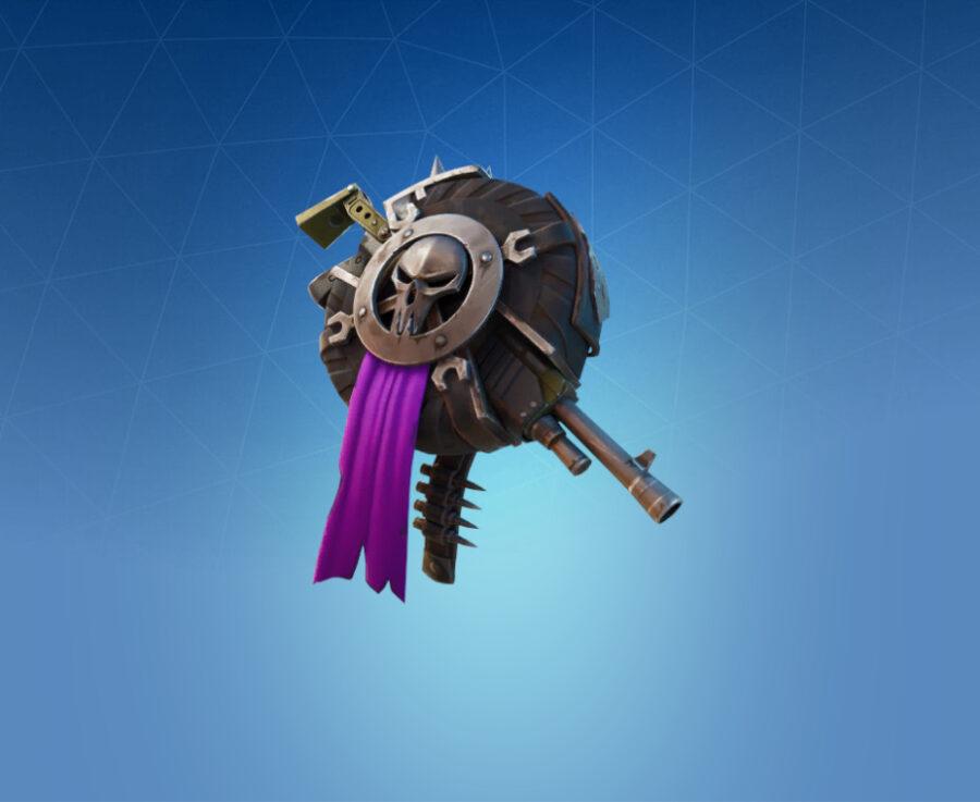 Warrior's Wheel Back Bling