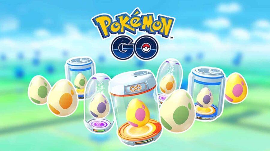 Pokemon Go eggs in incubators.