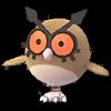 Hoothoot in Pokemon Go.