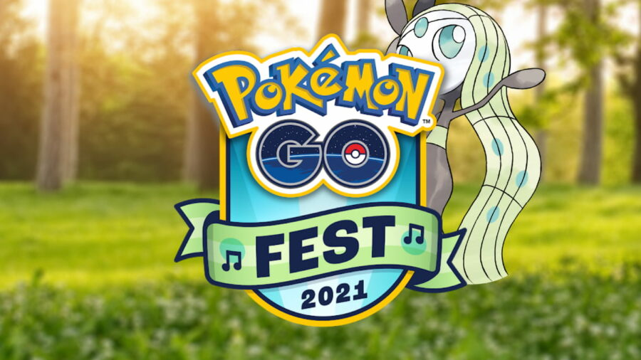 Pokemon Go Fest with Meloetta.