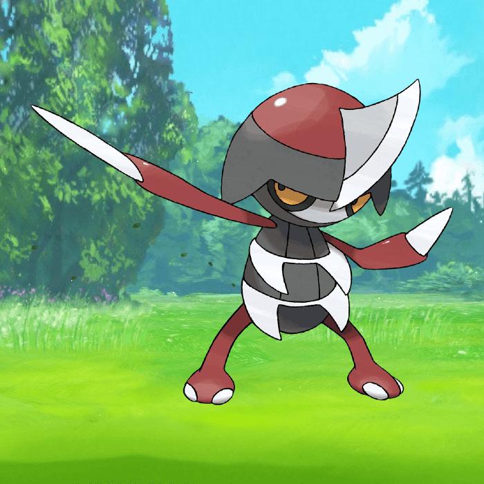 Pawniard in Pokemon Go.