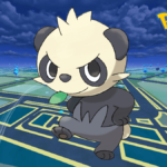 Pancham in Pokemon Go.