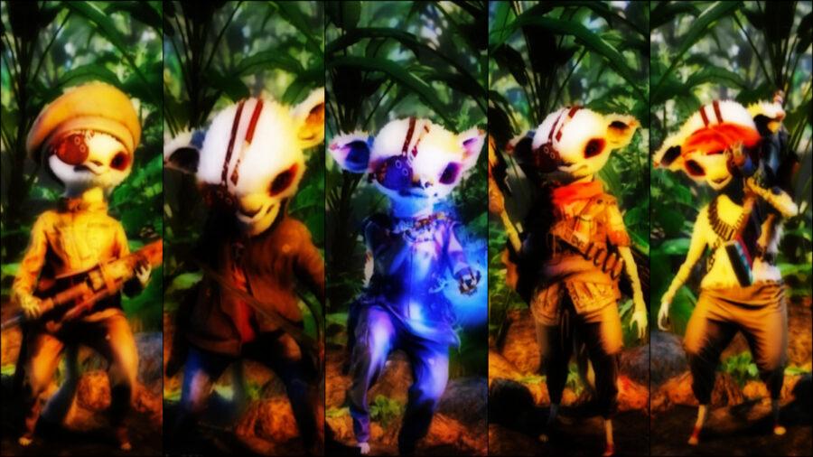 screenshot of Biomutant gameplay