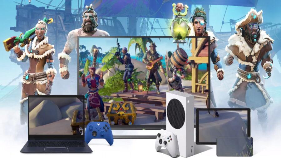 screenshot of Xbox Cloud Gaming