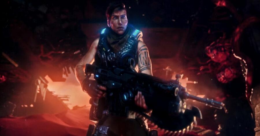 Screenshot of Gears 5 Gameplay trailer