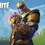 Thanos in Fortnite.