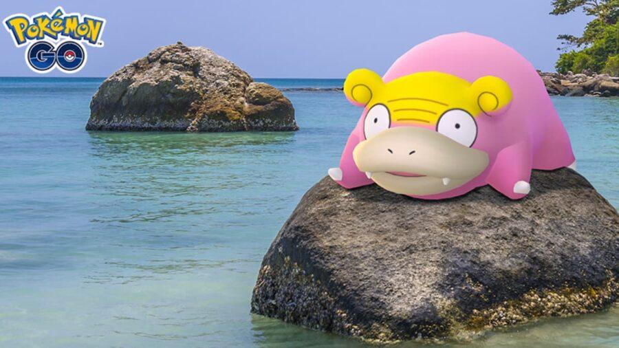 Galarian Slowpoke in Pokemon Go Promo