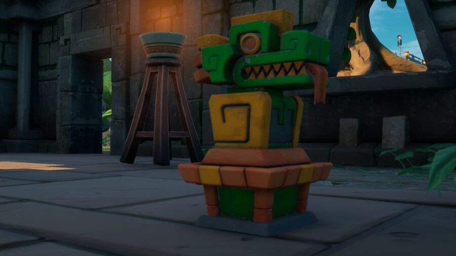 An Artifact in Fortnite C2S6W12 Epic Quests.