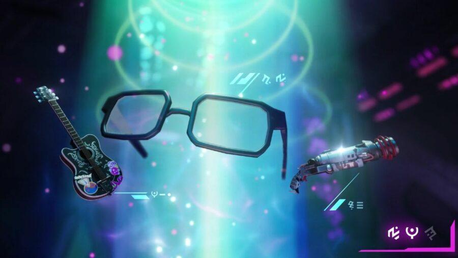 Fortnites Teaser with glasses.