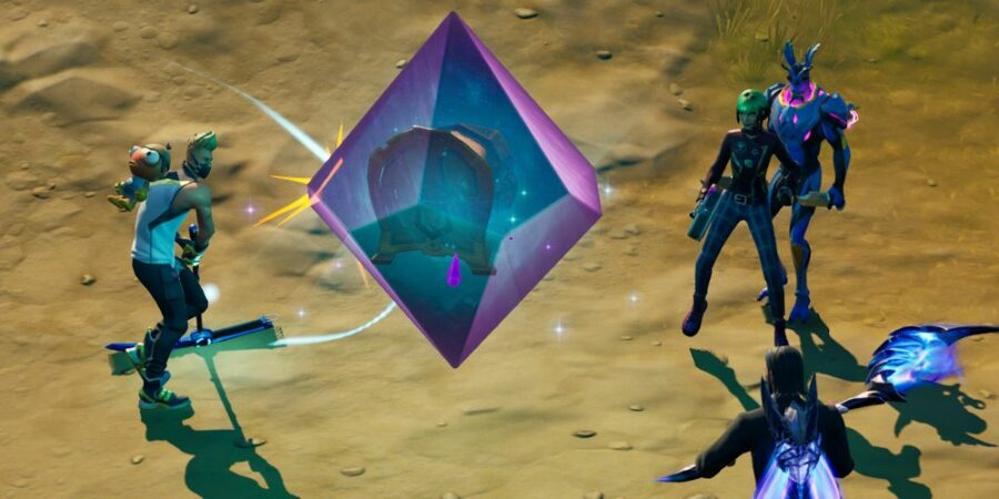 Swinging at a Cosmic Chest.
