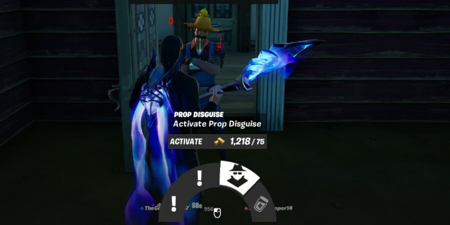 Wearing a Prop Disguise in Fortnite Chapter 2 Season 7l
