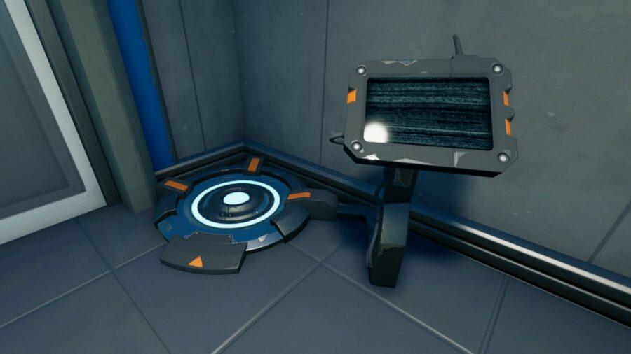 A Body Scanner in Fortnite.