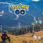 Pokemon Go Title in Nature.