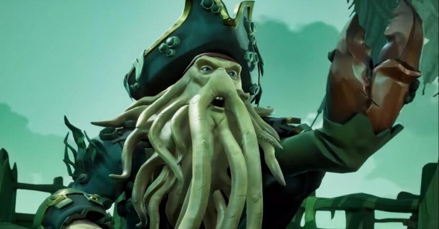 Screenshot of Sea of Thieves gameplay trailer