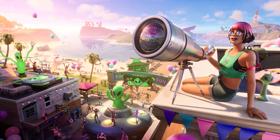 Believer Beach Loading Screen