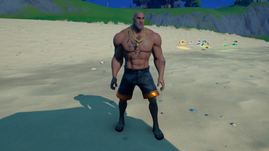 Beach Brutus in Fortnite.