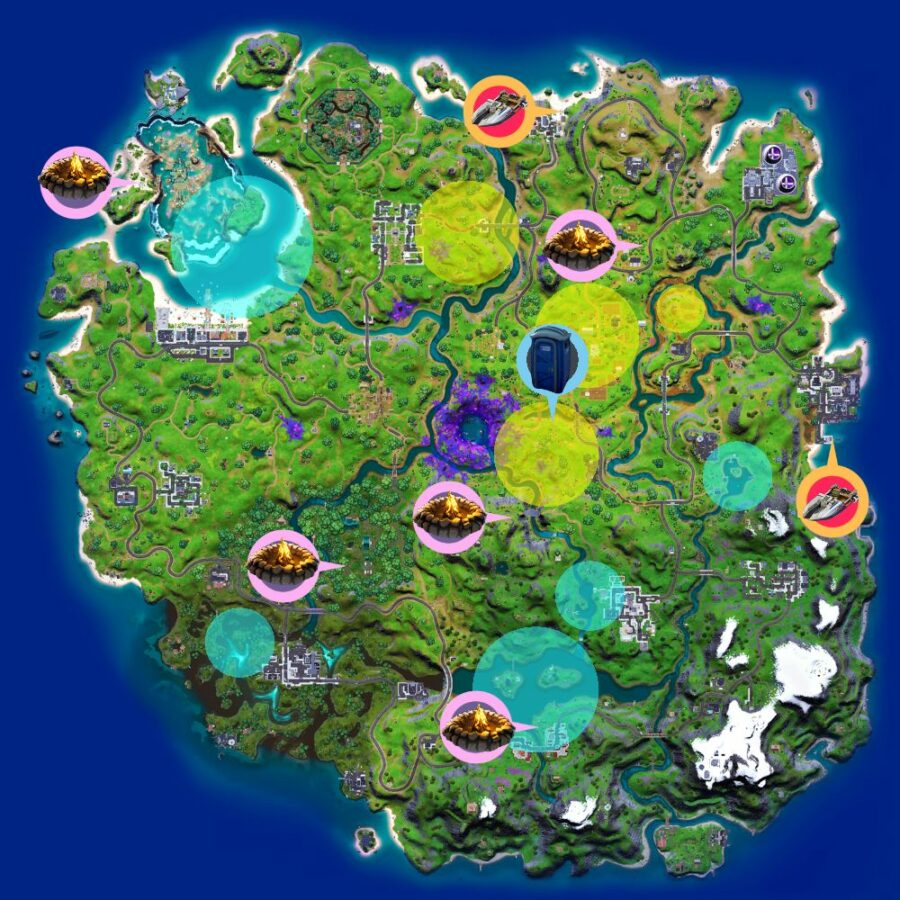 The Cheat sheet for Fortnite Epic Quests c2s7w3