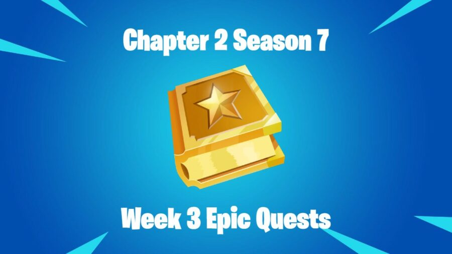 Title for C2S7W3 Epic Quest Cheat Sheet in Fortnite.