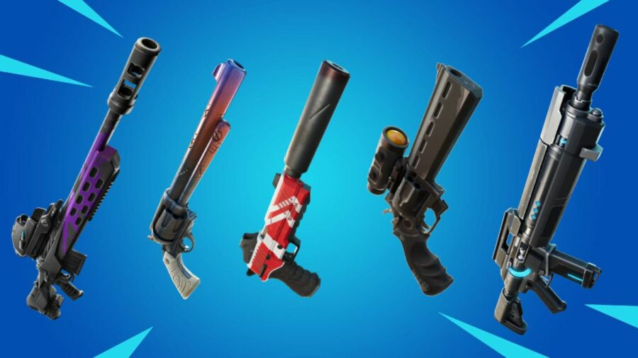 Fortnite Free Images Weapons All Exotic Weapons In Fortnite Chapter 2 Season 7 Npcs And Locations Pro Game Guides
