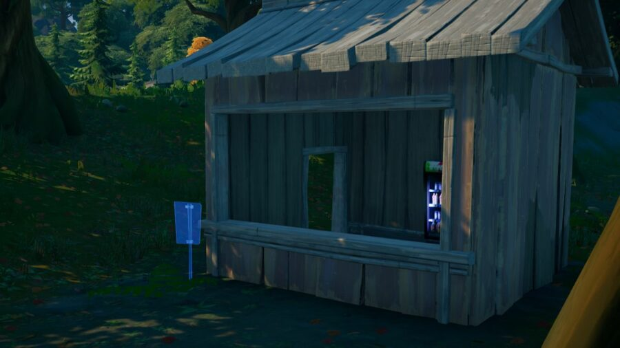 A Missing Person Sign in Fortnite.