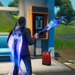 Staring at a Payphone in Fortnite.