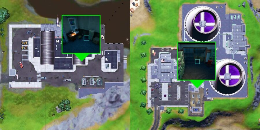 Prep Guide locations in Fortnite.
