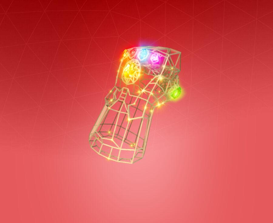 Infinity Gauntlet Back Bling