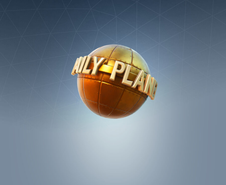 The Daily Planet Back Bling