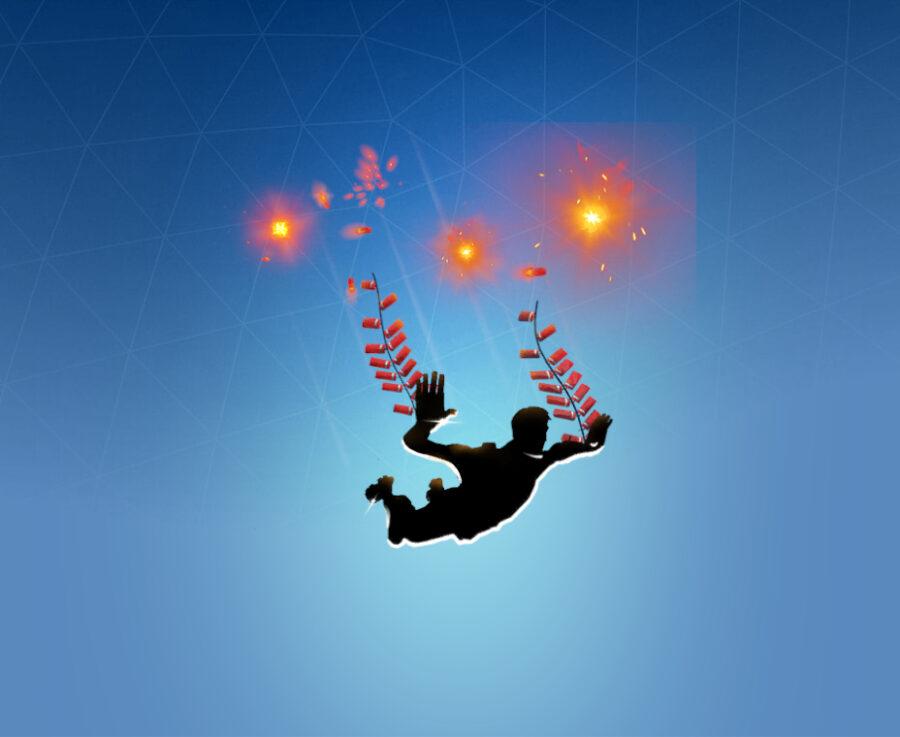 Firecracker Freefall Contrail
