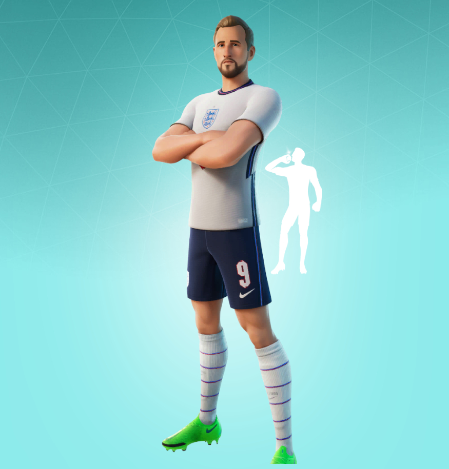 Fortnite Harry Kane Skin Character Png Images Pro Game Guides
