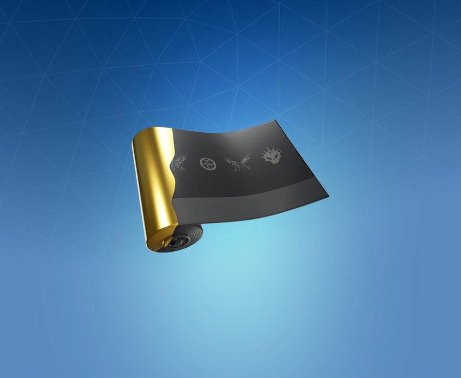 Golden Black Wrap